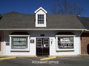 Rockmart Bail Bonds Polk County GA
